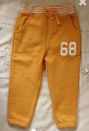 Спортивные штаны 12-18 рост до 86