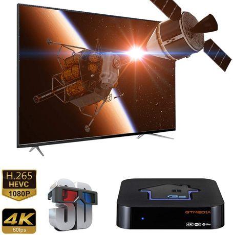 Smart TV BOX Gt G2 4K IPTV Android bez anteny sat, gt media, freesat,