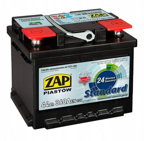 Akumulator Zap Standard 44Ah 360A
