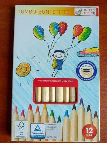 Набор цветных карандашей 12шт UNITED OFFICE