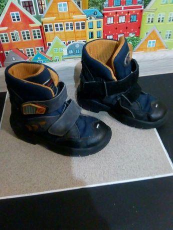 Детские зимние ботинки (светятся) Ricosta 27р. зимові чобітки дитячі