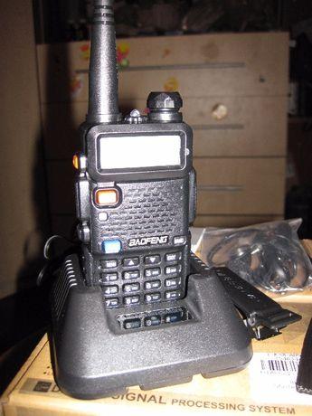 Радиостанция BAOFENG UV5R UHF:VHF дальность 5 км, 127 каналов памяти.
