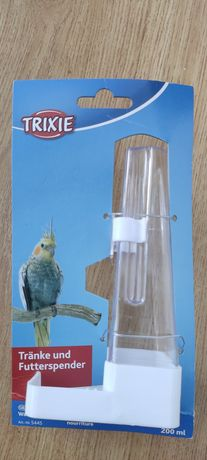 Poidełko, karmidelko dla ptaków egzotycznych nowe