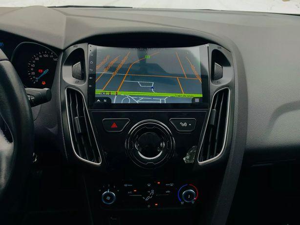 Ford Focus 3 2011 - 2019 radio tablet wyświetlacz android + carplay