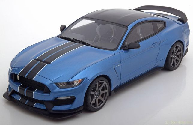 Ford Mustang Shelby GT350R azul GT Spirit Escala 1:18