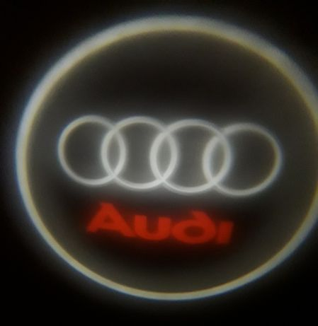 Luz Led cortesia porta logo AUDi/Peugeot/Honda/Seat NOVO SEM FIOS
