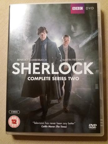 Sherlock Holmes - sezon drugi, DVD w angielskiej wersji jęz.
