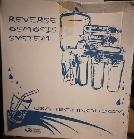Zestaw do uzdatniania wody - Odwrócona Osmoza - nowy - OKAZJA!