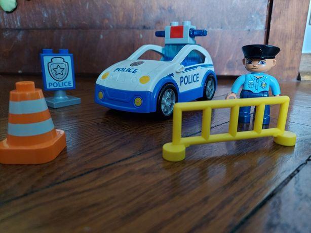 Zestaw lego duplo patrol policyjny