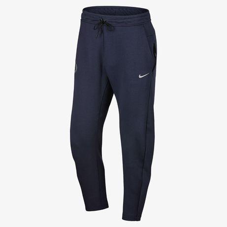 Новые оригинальные спортивные штаны nike tech fleece chelsea fc