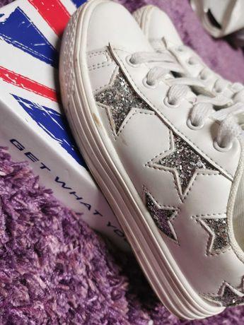Buty sneakersy dla dziewczynki 32