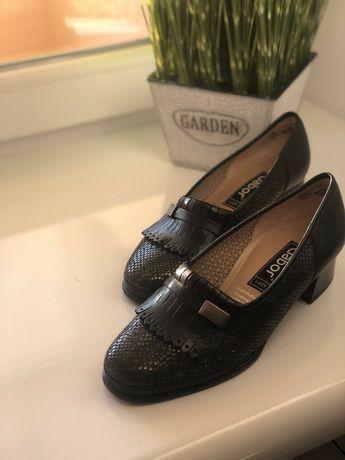 Повністю шкіряні туфлі Gabor 38 р.