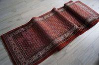 Antigo tapete corredor Sarouck,   Data -1900/1949 Dim:440cm / 85 cm  P