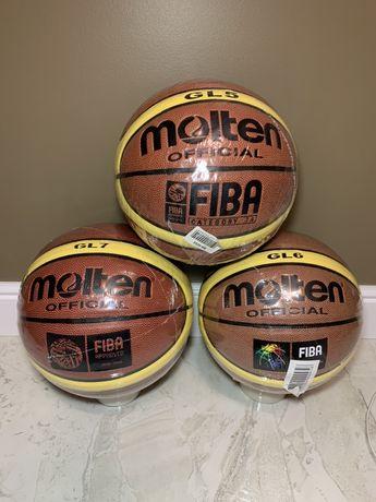 Баскетбольные мячи GL7\GL6\GL5 все размеры