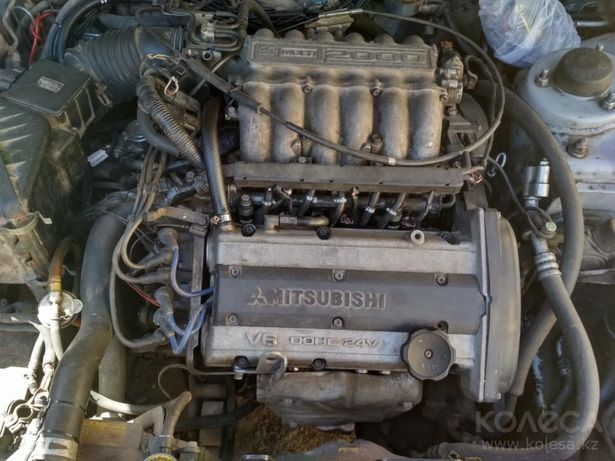 цена снижена. Срочно.Двигатель митцубиси галант 6А12 V6 2 литра