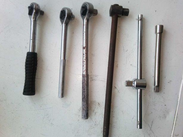 roquete varios tamanhos com chaves de caixa