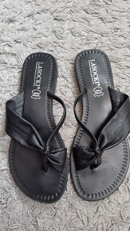 Sandałki  Lasocki czarne 38