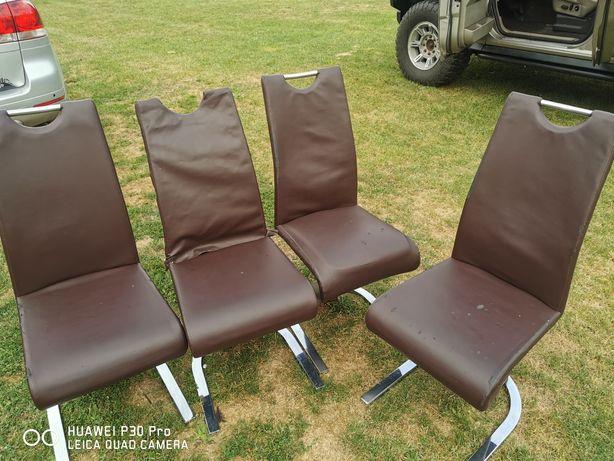 Nowoczesne Krzesło Płozy