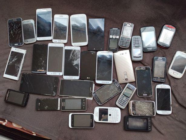 34 telefony uszkodzone