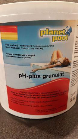 Basen Planet Pool PH Plus granulat 3kg Nowy Super cena