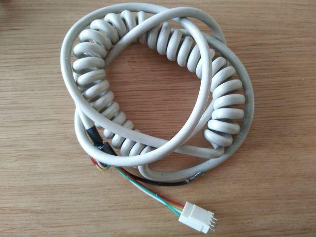 Przewód kabel 7 żył 1,8m lub 5 żył w ekranie sprężynka rozciągliwy
