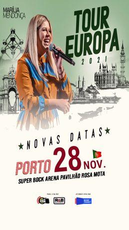 Bilhete Marília Mendonça Porto
