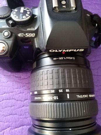 Olympus E500 i obiektyw 18-180 3,5-6,3
