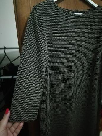 Vestido manga 3 quartos