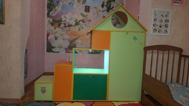 Мебель в детскую комнату, кровать детская