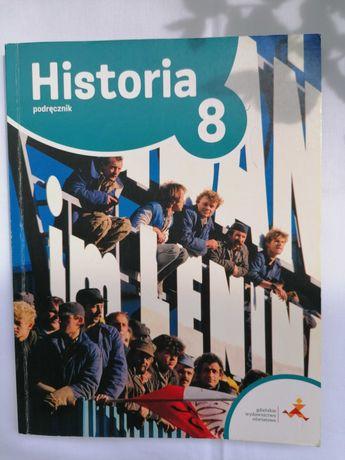 'Historia 8 Podróże w czasie' podręcznik STAN BDB+ GWO