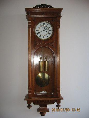 Zegar linkowy wiedeński dwuwagowy z sekundnikiem