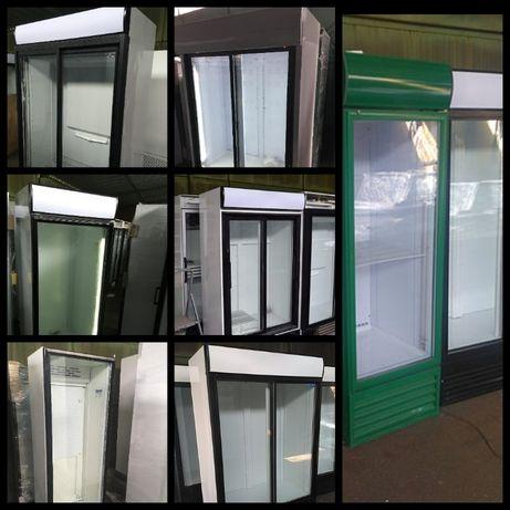 Холодильный шкаф б у, холодильник витрина, регалы. Отличное состояние
