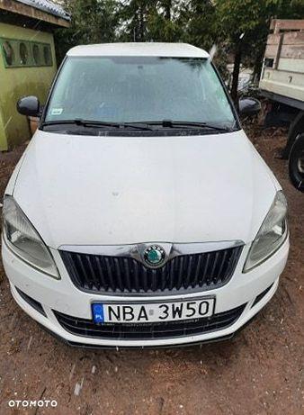 Škoda Fabia Mechanicznie sprawny, uszkodzenia blacharskie.