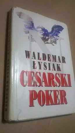 Książka~~Waldemar Łysiak~~CESARSKI POKER