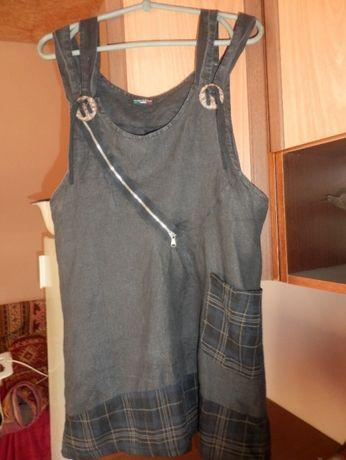 туника,блуза лен
