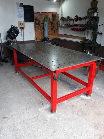 Stół spawalniczo-montażowy, 2400x1200x12mm, system 28