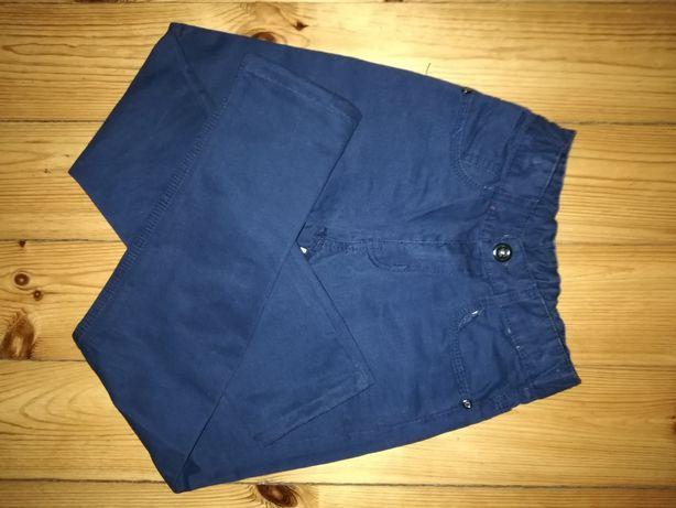 Spodnie chłopięce bawełniane roz. 146-152