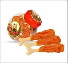 Udko kostka wapienna z mięsem kurczaka dla psa