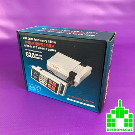 Консоль Dendy Famicom NES Classic Mini Grey + 620 Игр Sup