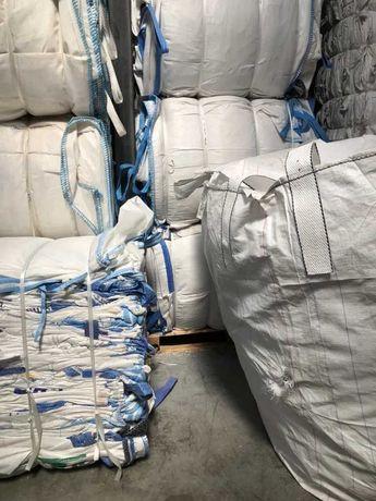 Worki big bag bagi 90x90x84 bigbag 500kg 750kg 1000kg na zboże trociny