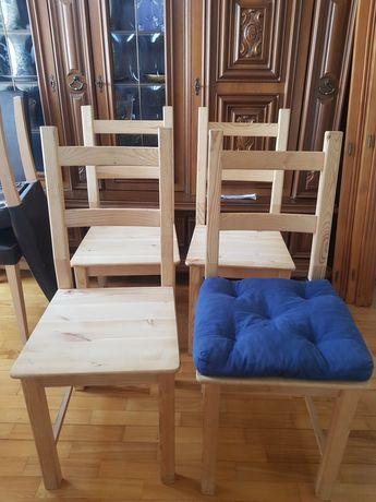 Krzesło krzesła Ikea Ivar sosna
