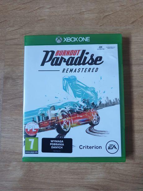 Burnout Paradise REMASTERED Xbox One - wyścigi, samochody