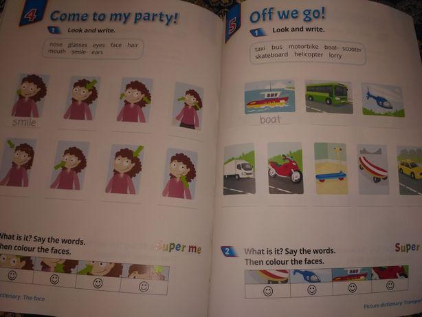 Английский детям, рабочая тетрадь, work book,