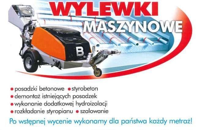 Wylewki Maszynowe , STYROBETON Promocja 24 zł 25 zł m2