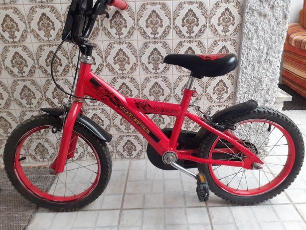 Bicicleta homem aranha menino roda 16