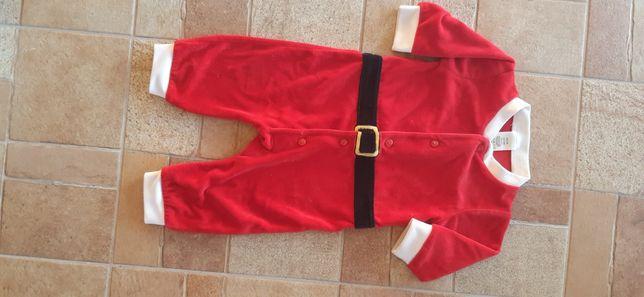 H&M strój Mikołaja 3-6 miesięcy