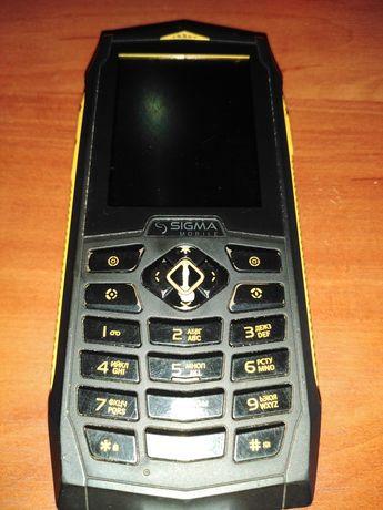 Продам телефон на 2 симкарты SIGMA.