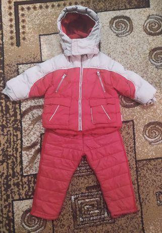Зимний костюм на мальчика 2 - 3 года Штаны + куртка