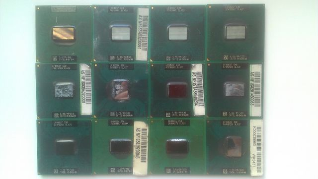 Процессоры Intel Celeron, Pentium