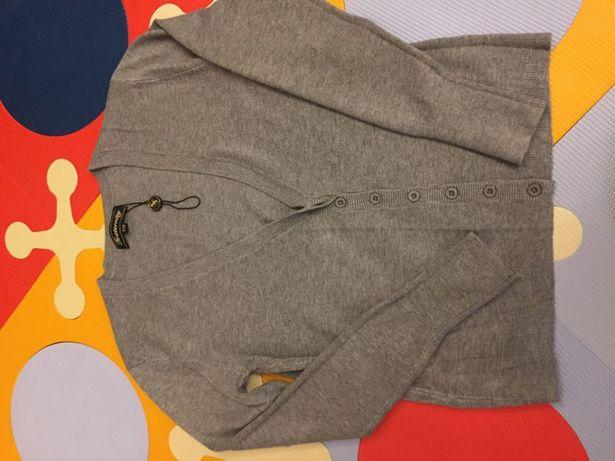 Nowy sweter Fraternity szary rozmiar S/M